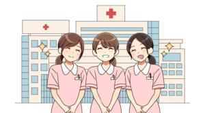 日赤病院で働く看護師
