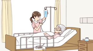 消化器外科の看護師