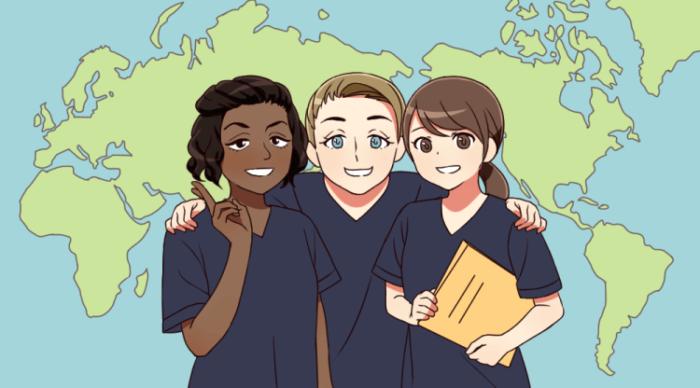 海外で働く看護師